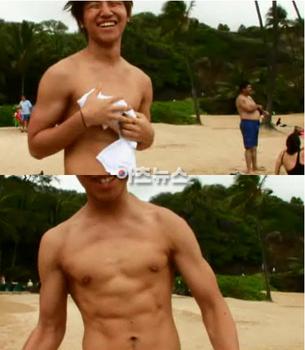 テソンの筋肉画像2
